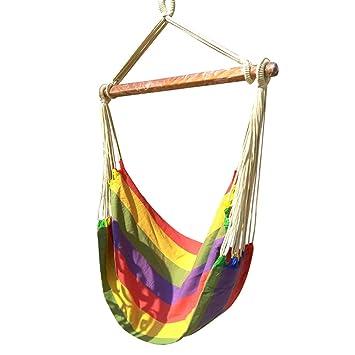 Hangit Cotton Swing Chair (Multicolor, 50 Centimeters)