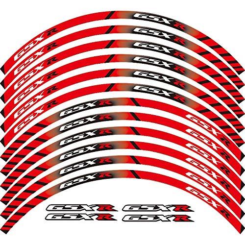 Motorcycle Wheel Sticker 17