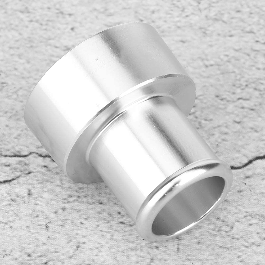Silver KIMISS 25mm//1.0in Aluminium Alloy Recirculate Flange Adapter Refitting Accessory for HKS SSQV SSQ BOV Outlet Fitting