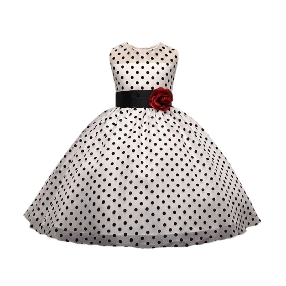 Feitengtd Infant Baby Girls Sunflower Print Sleeveless Backless Floral Dress Outfits