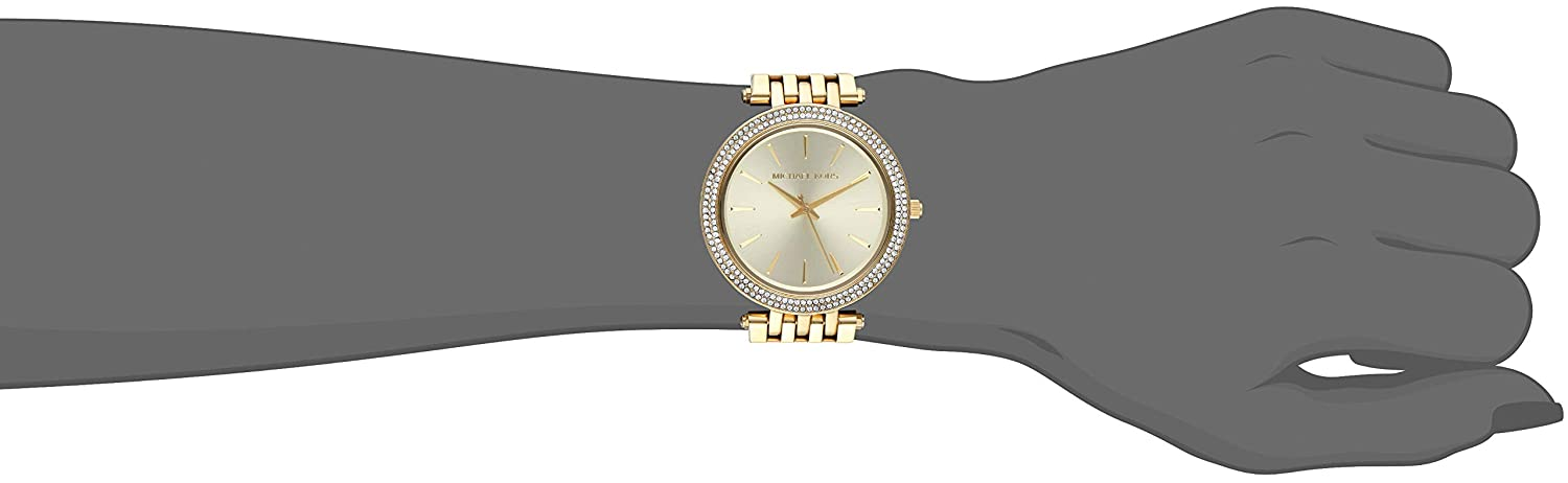 34f8dd63b8a6a Amazon.com  Michael Kors Women s Darci Gold-Tone Watch MK3191  Michael Kors   Watches