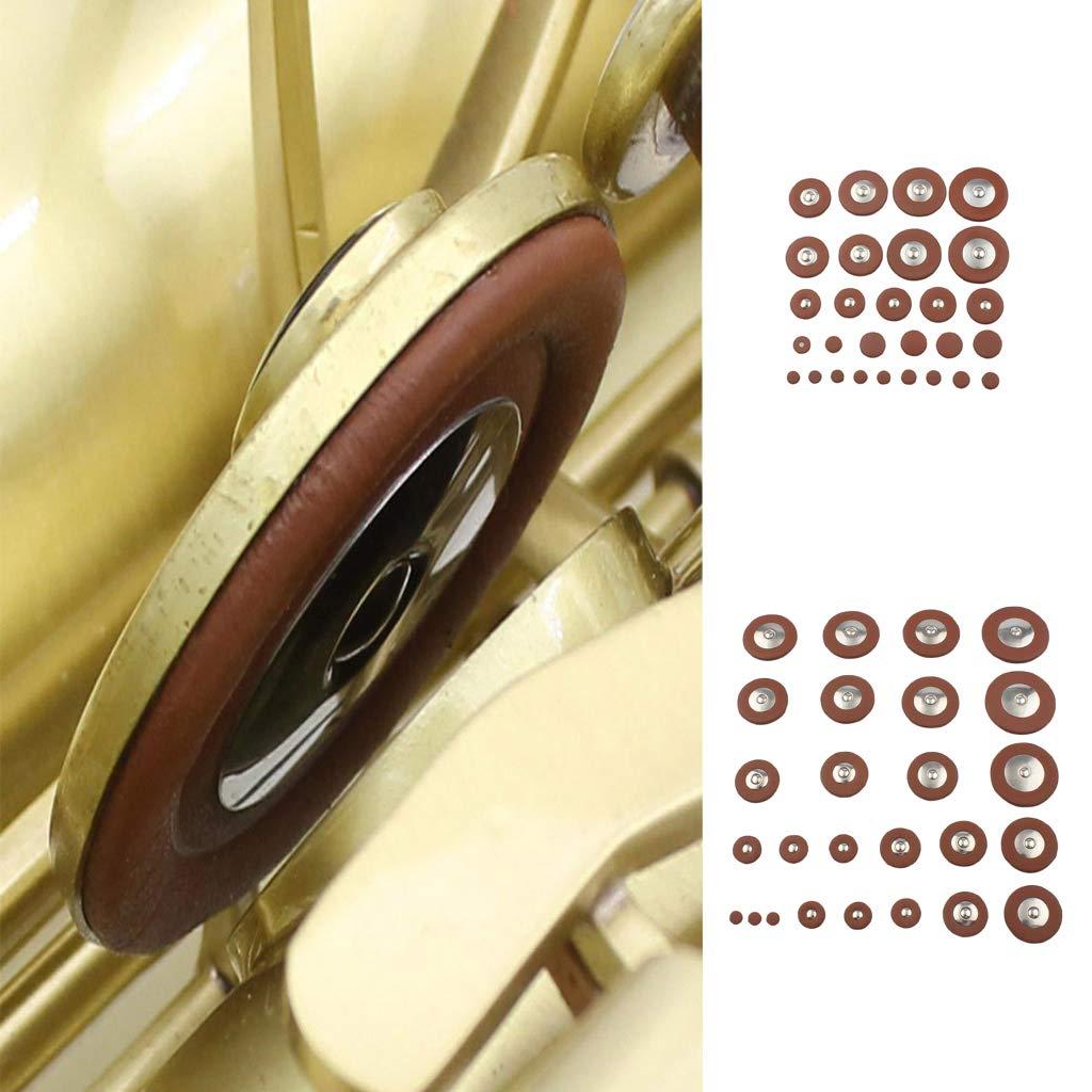Shiwaki Pi/èce De Rechange Pour Prot/ège-tampon Saxophone En Cuir Durable 26x Alto Sax