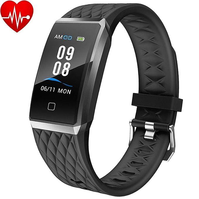 Willful Montre Connectée Femmes Homme Smartwatch Bracelet Connecté Podometre Enfant Cardio Etanche IP68 Sport Smart Watch Cardiofrequencemetre ...