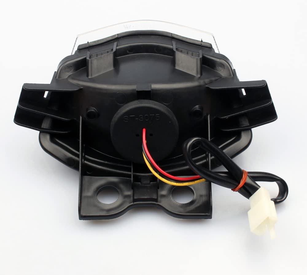 R/ücklicht R/ückleuchte Komplett passend f/ür Kawasaki ER-6F ER-6N Ninja 650 23025-0020