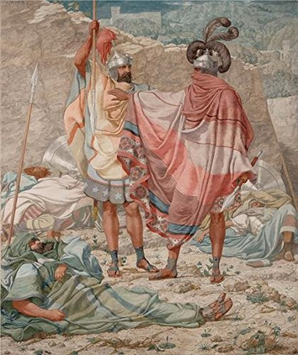 Oil Painting 'Mercy- David Spareth Saul's Life,1854 By Richard Dadd' Printing On High Quality Polyster Canvas , 8x10 Inch / 20x24 Cm ,the Best Foyer Decor And Home Gallery Art And Gifts Is This Cheap But High Quality Art Decorative Art Decorative Canvas Prints