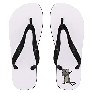 9972ceefdeb Rat flip flops sandals for men women dabbing gifts for mouse pet lovers  large jpg 395x395