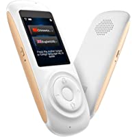 MORTENTR Translator Device Smart Voice Translator with 2.4inch HD Touch Screen Support 70 Languages for Learning Travel Business Shopping