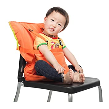 9845d1bee404 Amazon.com   Kxtffeect Portable Baby Travel Chair Booster Safety Seat Cover  with Carry Bag