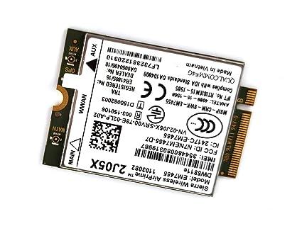 Amazon com: Dell Sierra Wireless Airprime EM7455 LTE 4G WWAN
