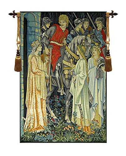 The Holy Grail Left Panel European Wallhanging by Charlotte Home Furnishings Inc.