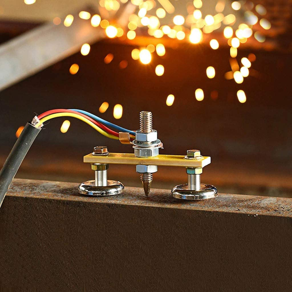Welding Magnet Double Head Copper Tail Welding Stability With tail Strong Magnetism Large Suction.Single Absorbable Weight 4KG