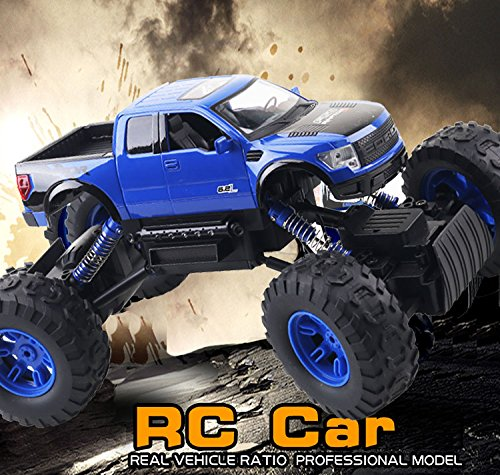 NEW ITEM: RC TRUCK, FORD RAPTOR, 4 X 4, MONSTER TRUCK, 2.4 GHZ, 1:10 SCALE, REMOTE CONTROL TRUCK, RC TRUCK (10 Scale Remote Control)