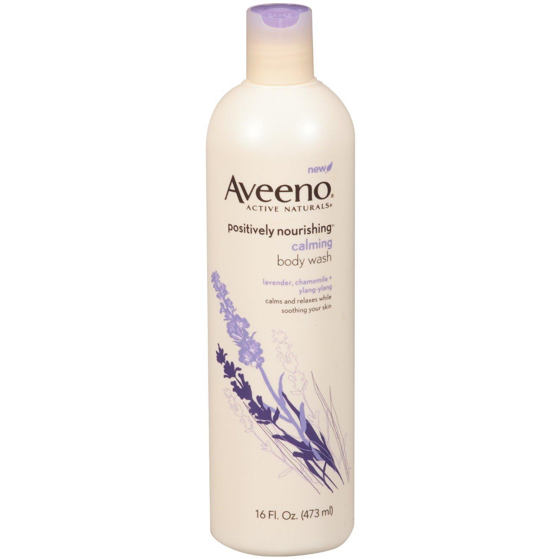 Product Name: Aveeno Active Naturals Positively Nourishing Calming Body Wash, Calming Lavender, Chamomile + Ylang Ylang…
