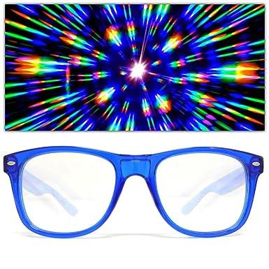 GloFX Ultime de Diffraction Lunettes 3D effet de prisme edm arc-en-ciel  kaléidoscope e5c845a0cad8