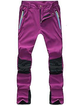 a634b74fb9b Lakaka Hiking Trousers Womens Waterproof Summer Walking Mountain Pants  Lightweight Breathable Outdoor Sportswear  Amazon.co.uk  Sports   Outdoors