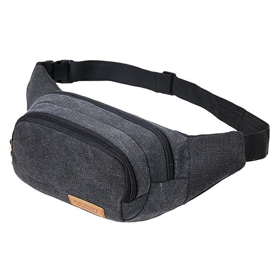 E-JIAEN Waist Bag Men Women for Hiking Camping Running Sports Packs Sling Bag Chest Shoulder Gym Backpack Sack Satchel Outdoor Crossbody Pack