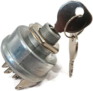 The ROP Shop Ignition Key Switch w/ 2 Keys fits Cub Cadet 1535 1861 1862 2160 Garden Tractors