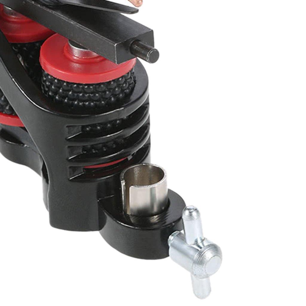 Baosity 10 Vueltas M/áquina de Bobina Trazador de L/ínea de Shader de Motor de Tatuaje de Acero de Carbono Profesional