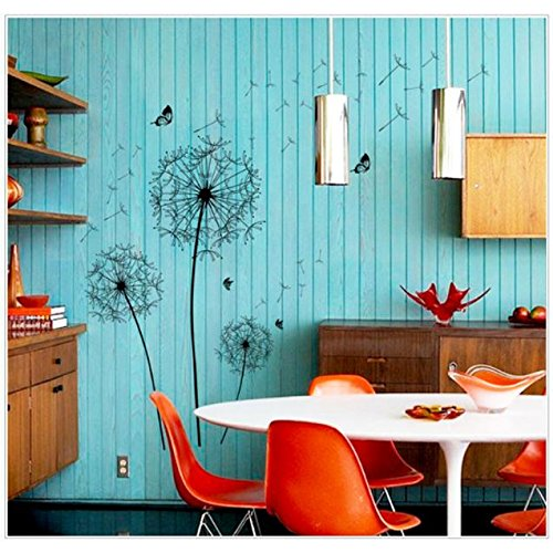 Clearance! Bokeley New Design Large Black Wall Sticker Art Decals PVC Wall Decoration