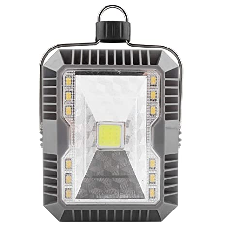 koulate LED COB Solar Light, ABS + PC Recargable portátil al ...