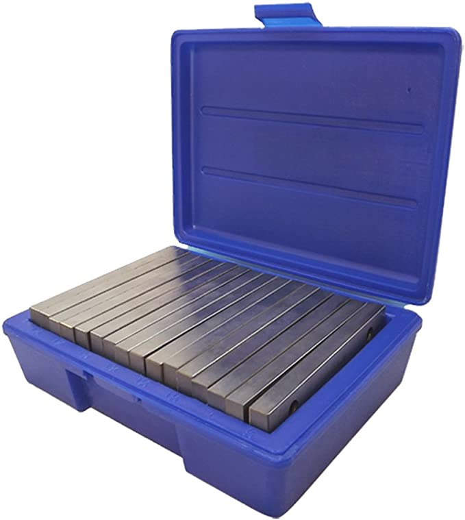 40pcs 1//32 X 6 inch Steel Parallel Set .0001 inch Hardened Precision Machinist Tools in Case /& Electronic Edge Finder D DOLITY 20 Pairs
