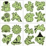 Inkadinkado Stamping Gear Cling Stamps, Seasonal Set