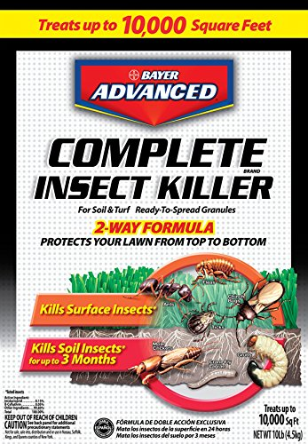 Bayer 700288S Advanced Complete Insect Killer for Soil and Turf Granules, 10-Pound (Granules Control)