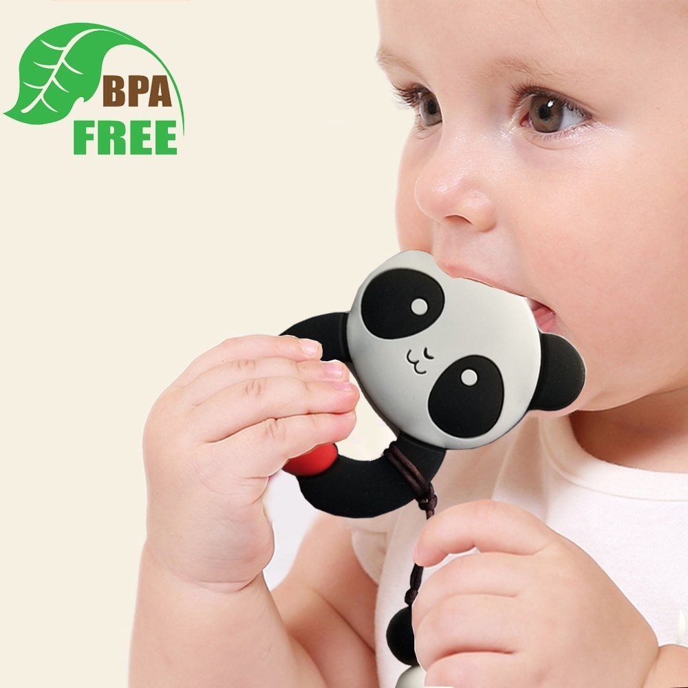 Amazon.com: MY BIBY - Clip para chupete de bebé, sin BPA, de ...