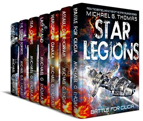 Star Legions: The Ten Thousand Complete Series Box Set (Books 1 - 7) cover