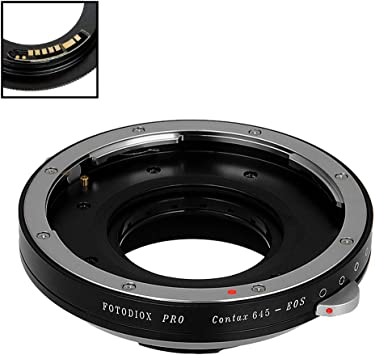 Fotodiox Pro Mount Adapter for Contax//Yashica Lens to Canon EOS EF-Mount Camera
