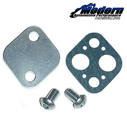 Amazon.com: MAPerformance EGR Block-Off Plate for DSM 1990-99 Mitsubishi Eclipse/Eagle Talon & 2003-07 Mitsubishi Lancer Evo 8/9: Automotive