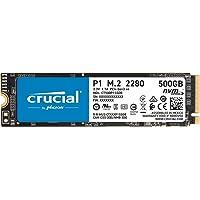 TechData Crucial P1 2000GB 3D NAND NVM PCIe M.2 SSD, CT2000P1SSD8