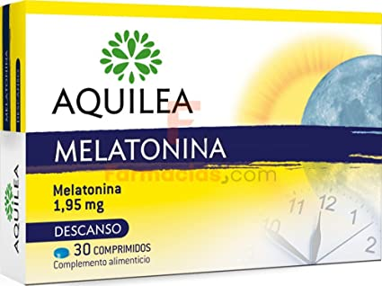 AQUILEA Melatonina 30 cápsulas