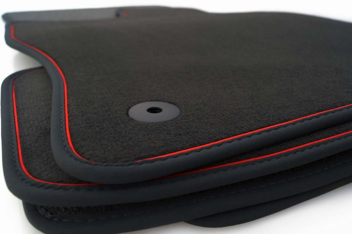PREMIUM Velours-Fußmatten für Opel Astra J ab 2009 Autoteppiche Automatten