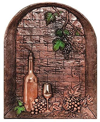 Good Directions 2004C Wine Cellar Mural & Backsplash, Copper