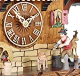 Adolf Herr Cuckoo Clock - The Busy Wood Chopper