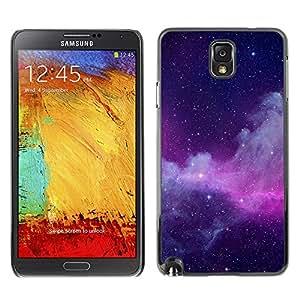 Millones de Energía Radiante - Metal de aluminio y de plástico duro Caja del teléfono - Negro - Samsung Note 3 N9000