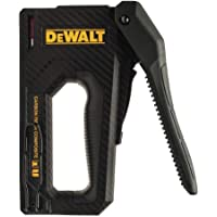 DEWALT Staple Gun, Carbon Fiber Body, 2-in-1 Tacker (DWHT80276)