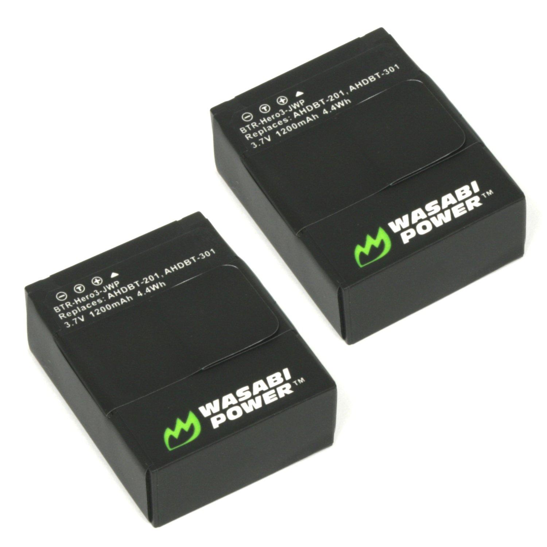 2 baterias para GoPro HERO3, HERO3+ GoPro AHDBT-201