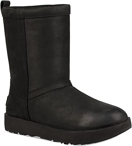 UGG Classic Short Waterproof Stivali Black | Stivali Classic