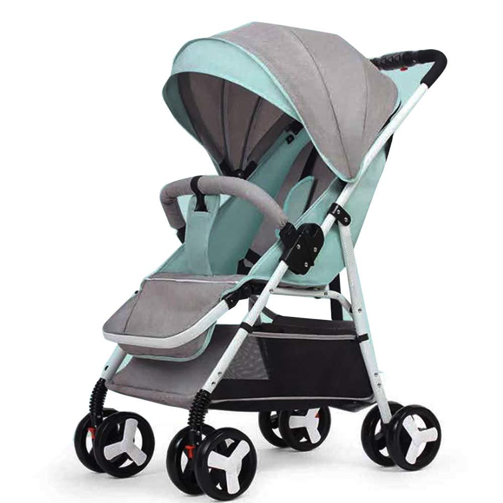 DWhui Ultra-Light Light-Lackierung Folding Trolley, Leichtgewicht und Compact Travel Stroller-Umbrella Stroller, geeignet für Kinder von 0-3 Jahren