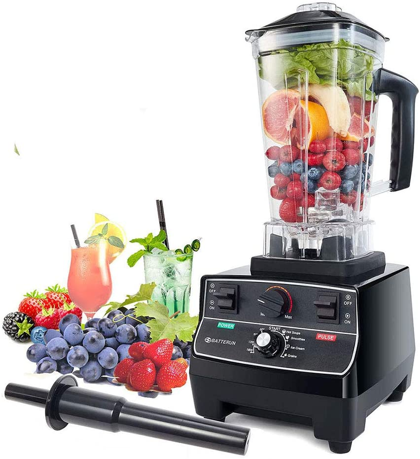 BATEERUN Blender Professional Smoothie Blender, 2200W High Speed Countertop Blender for Shakes and Smoothies, Kitchen Commercial blenders, Smoothie Maker with 68OZ Pitcher (Model2)