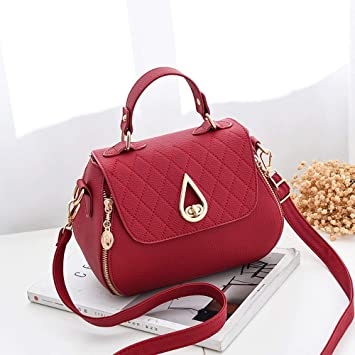 Amazon.com   Vinteen Small Bag Female Summer The New Oblique Small Square  Package Teenage Girl Celebrity Same Paragraph Super Fire Wild Shoulder Bags  ... bd648b80e5a55