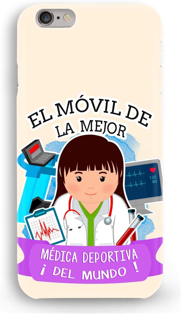 Funda Carcasa Medica Deportiva para iPhone XR plástico rígido