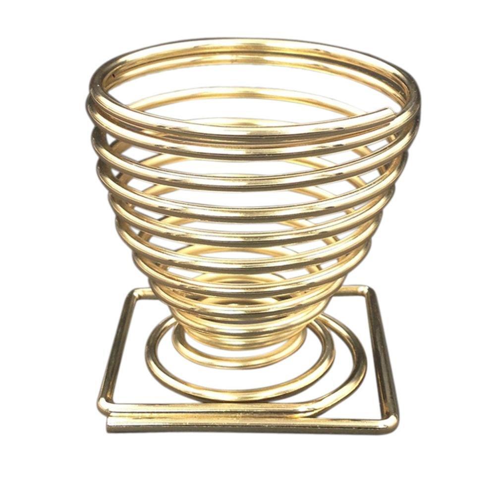Puff Trocknen Halter, HARRYSTORE Make-up Schönheit Schablone Ei Puder Puff Schwamm Anzeige Stand Rack (Gold) HZS-5689