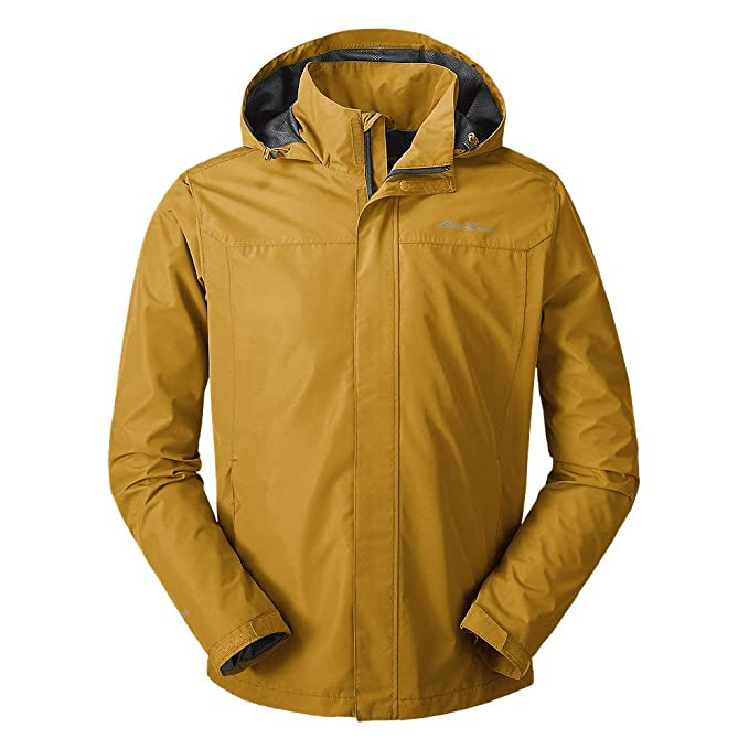 Eddie Bauer Mens Rainfoil Packable Jacket