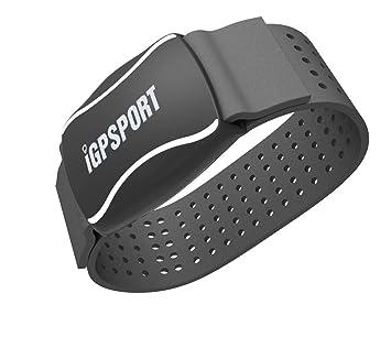 iGPSPORT HR60 (Versión Española) - Monitor de Frecuencia Cardiaca Foto-Eléctrico, Batería Litio Recargable, Bluetooth + Ant+ …