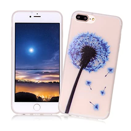 XiaoXiMi Carcasa iPhone 7 PLUS Funda Luminosa de Silicona ...