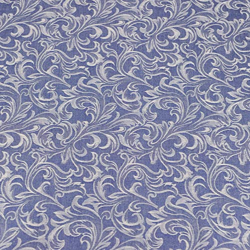 Pre-Cut Cotton Denim Fabric,Good Quality for Quilting,Cloth,DIY Sewing Crafting 63