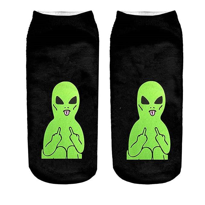 Socks 3D Printing Female Socks Women Low Cut Ankle Socks Calcetines Mujer Casual Hosiery Printed Sock Cat 1 at Amazon Womens Clothing store: